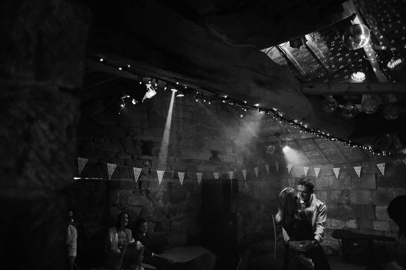 dramatic dance photo from danby castle wedding