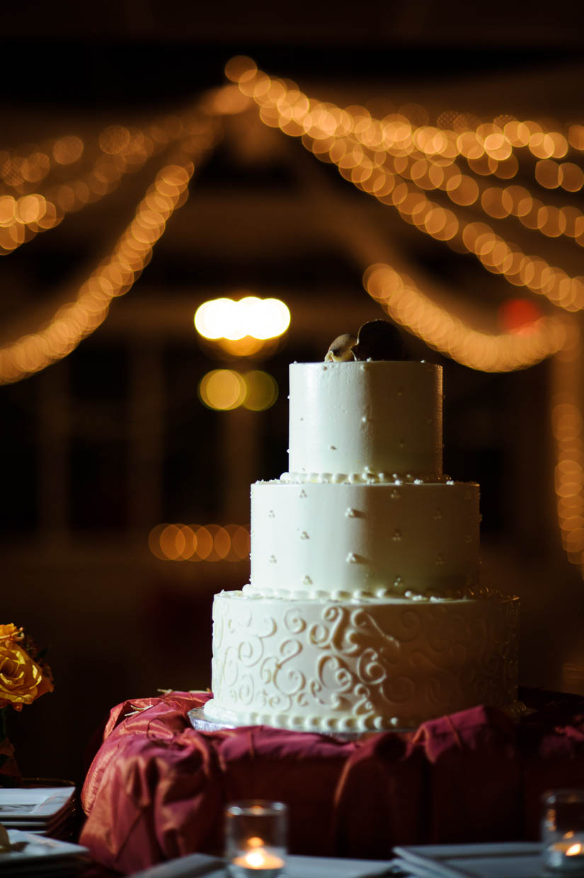 cake photo at maryland eastern shore wedding
