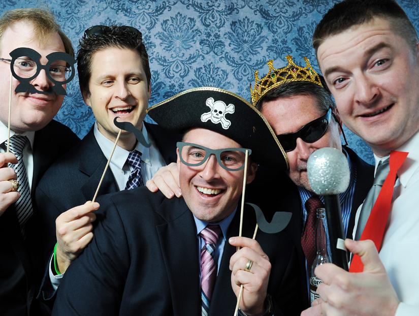 wedding party photobooth