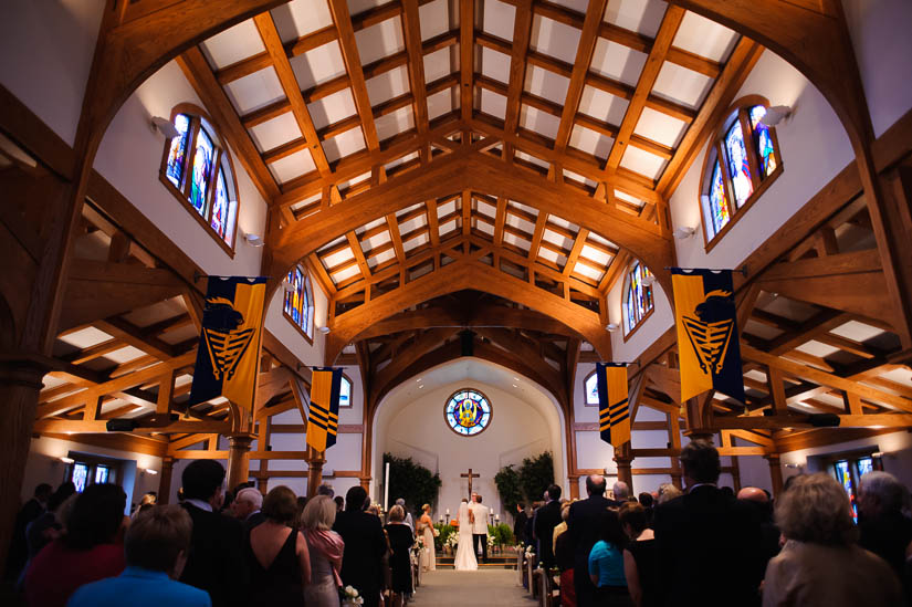 Loyola Blakefield church wedding