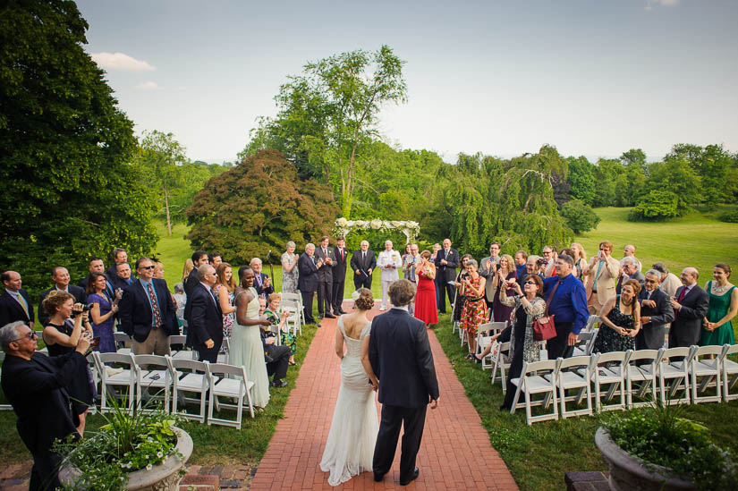 wedding photojournalist Amber Wilkie at historic rosemont manor wedding