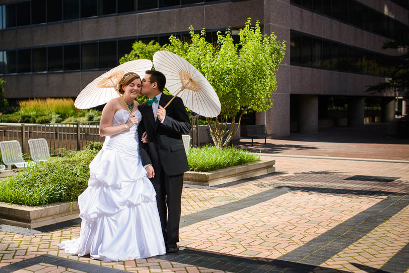 portraits in arlington, va wedding