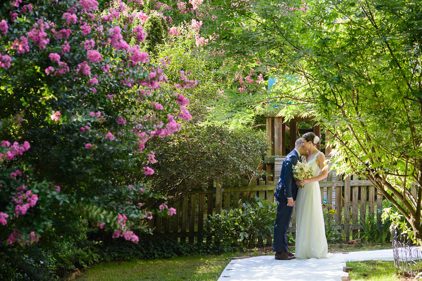 washington dc backyard wedding
