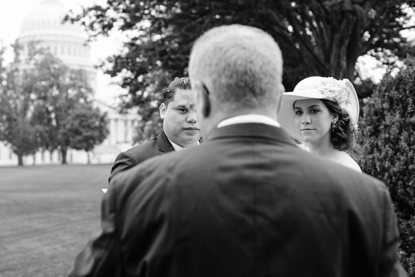 wedding photography at the u.s. capitol
