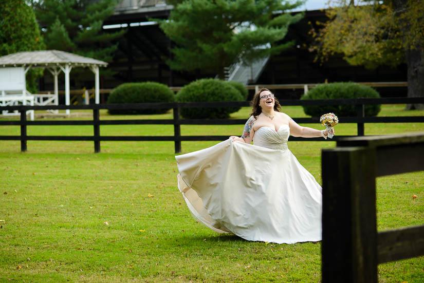 Monkhouse hill wedding